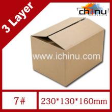 Caja de cartón ondulado de tres capas / Caja de papel de embalaje (1287)