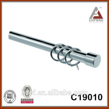 Finial de alumínio simples