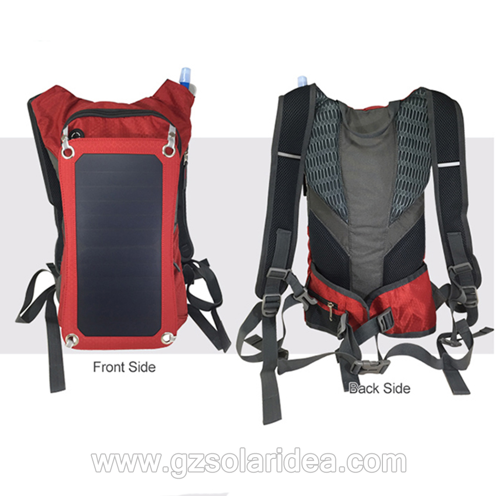 backpack solar phone charger