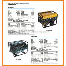 Sirling generador de motores de cobre de arranque eléctrico de gasolina generador generador de energía