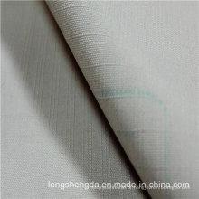 Água e vento resistente Anti-Static Sportswear manta tecido Dobby Jacquard 100% tecido de poliéster pele de pêssego (53142)