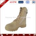Peso ligero botas militares desierto estilo americano de cuero genuino