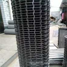 Stainless steel wire mesh modular conveyor belt