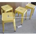 Sillón industrial color amarillo