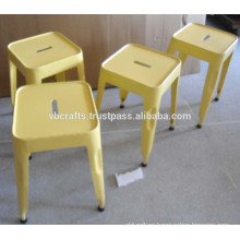 Industrial Stool Yellow color