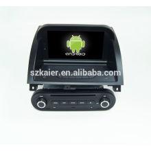 Quad core! Dvd do carro com link espelho / DVR / TPMS / OBD2 para 8 polegada tela sensível ao toque quad core 4.4 sistema Android MG 3