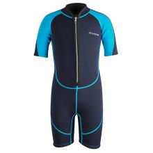 Seaskin Neoprene Suit Front Zip For Boys