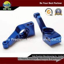 Dark Blue Anodised Aluminum CNC Machining Parts for Bike