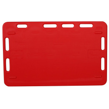 Durable Red Hard Plastic Pig Classing Board