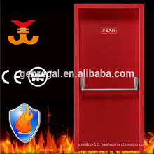 BS476 Tested 2 hours safe fire proof steel door