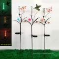 Décoration de jardin solaire décoration en métal