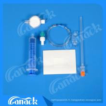 Certificats de fournisseur médical Ce / ISO Kit jetable stérile de suture chirurgicale Ensemble de rachis