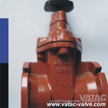 Cast Iron/Ductile Iron Clamp Ends Soft Seat Gate Valve