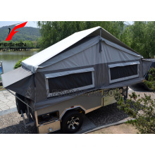 High quality Hard floor camper trailer for 3-4 person outside camper traielr