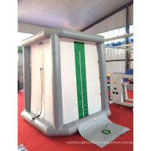 Outdoor temporary disinfection military tent