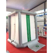 Военная палатка для временной дезинфекции на открытом воздухе
