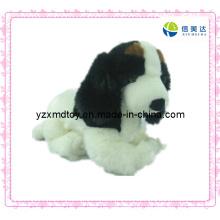 Белая собака Плюшевые игрушки для продажи