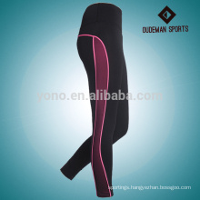 Professional custom woman full length active wear yoga leggings supplier