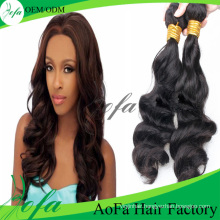 100% Unprocessed Brazilian Human Hair Remy Human Virgin Hair Weft