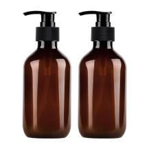 Savon liquide en plastique pompe à lotion noire pour les mains
