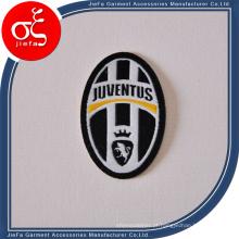 Patch de bordado de futebol famoso personalizado