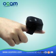 OCBS-R01 1D Ring Kleiner Mini Bluetooth Barcode Scanner