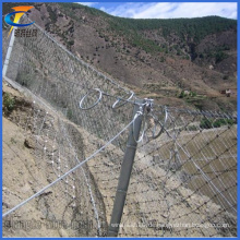 Gute Qualität Edelstahl Seil Mesh (Passive Hang Schutz Ring Netz)