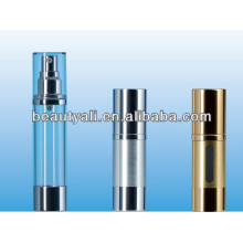 SAN AS cosmetic airless pump bottle