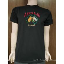 T-shirt personnalisé 100% coton pour homme