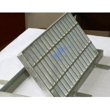 Verzinktem Stahl Gitter für Graben Cover