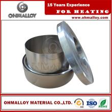 0,5 * 5 mm Ruban Fecral25 / 5 Fournisseur 0cr25al5 Fil pour four de muffle