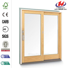 French Wood Gliding  Pine Interior Patio Door