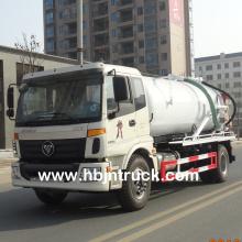 Camion citerne d'eaux usées d'aspiration