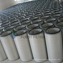FORST Buena calidad de turbina de gas Filtros de entrada industrial Cartucho para colector de polvo