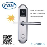 FL-3008S FOX hotel key card lock system with software