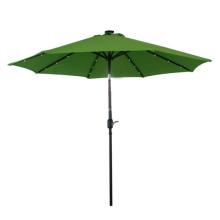 Novo Design de alta qualidade LED jardim guarda-chuva