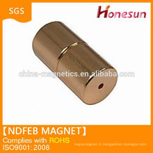 Vente chaude N50 Neodymium Magnet aimant en néodyme