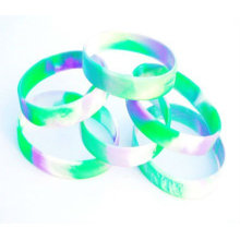 personalize silicone bracelet