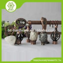 Fournisseur de Chine Support de tige à rideau de haute qualité en plastique