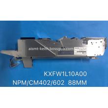 FEEDER KXFW1L10A00 Panasonic CM402 CM602 NPM 88MM