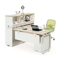 Divisão de escritório de alumínio de design metálico moderno para pessoal que usa