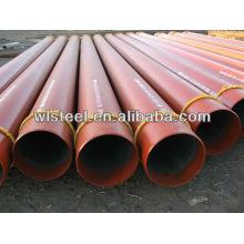 astm a53 / a106 gr.b sch80 tuyau d'acier sans soudure de carbone