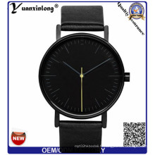 Yxl-308 Personnaliser le logo Japan Movt Quartz Leather Strap Brand mode Casual Men's Women Watches