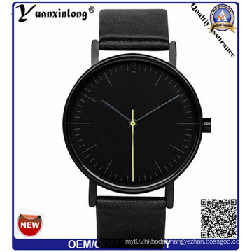 Yxl-308 Customize Logo Japan Movt Quartz Leather Strap Brand fashion Casual Men′s Women Watches