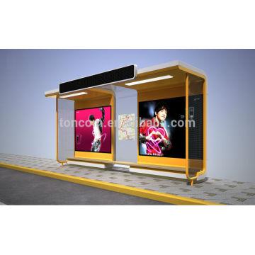 THC-56B gran publicidad de exhibición de refugio de tránsito