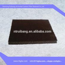 carvão ativado de esteira de feltro de estimação