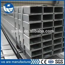 Forme GB / T6728 structure soudée tube et tuyau en acier de 60 * 30
