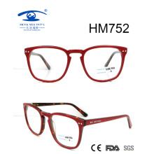 Новая горячая распродажа Лучший дизайн ацетат оптической рамки (HM752)