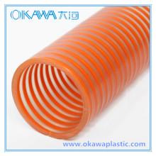 Okawa PVC Saugschlauch mit Orange Helix