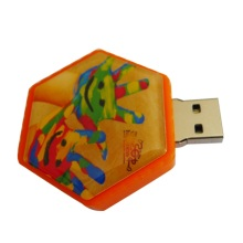 Rotating cube Usb flash drive promotional gift 32GB